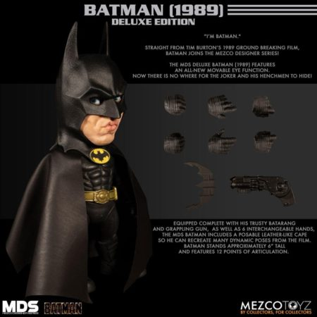 Batman MDS Deluxe Action Figure Batman (1989)-0