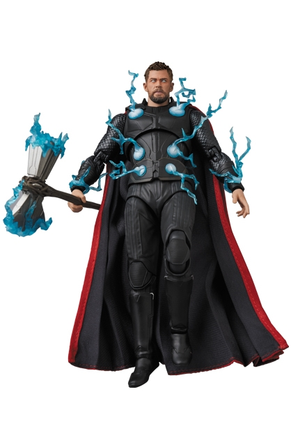 Avengers Infinity War MAFEX Action Figure Thor-15278