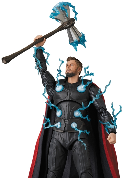 Avengers Infinity War MAFEX Action Figure Thor-15279