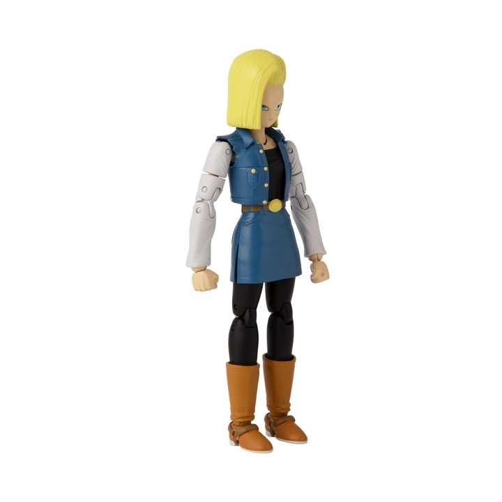 Dragon Ball Stars Android 18 Action Figure-15613