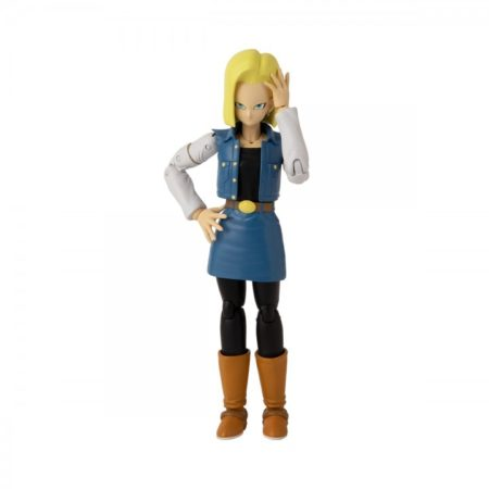 Dragon Ball Stars Android 18 Action Figure-0