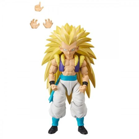 Dragon Ball Stars Super Saiyan 3 Gotenks Action Figure-0