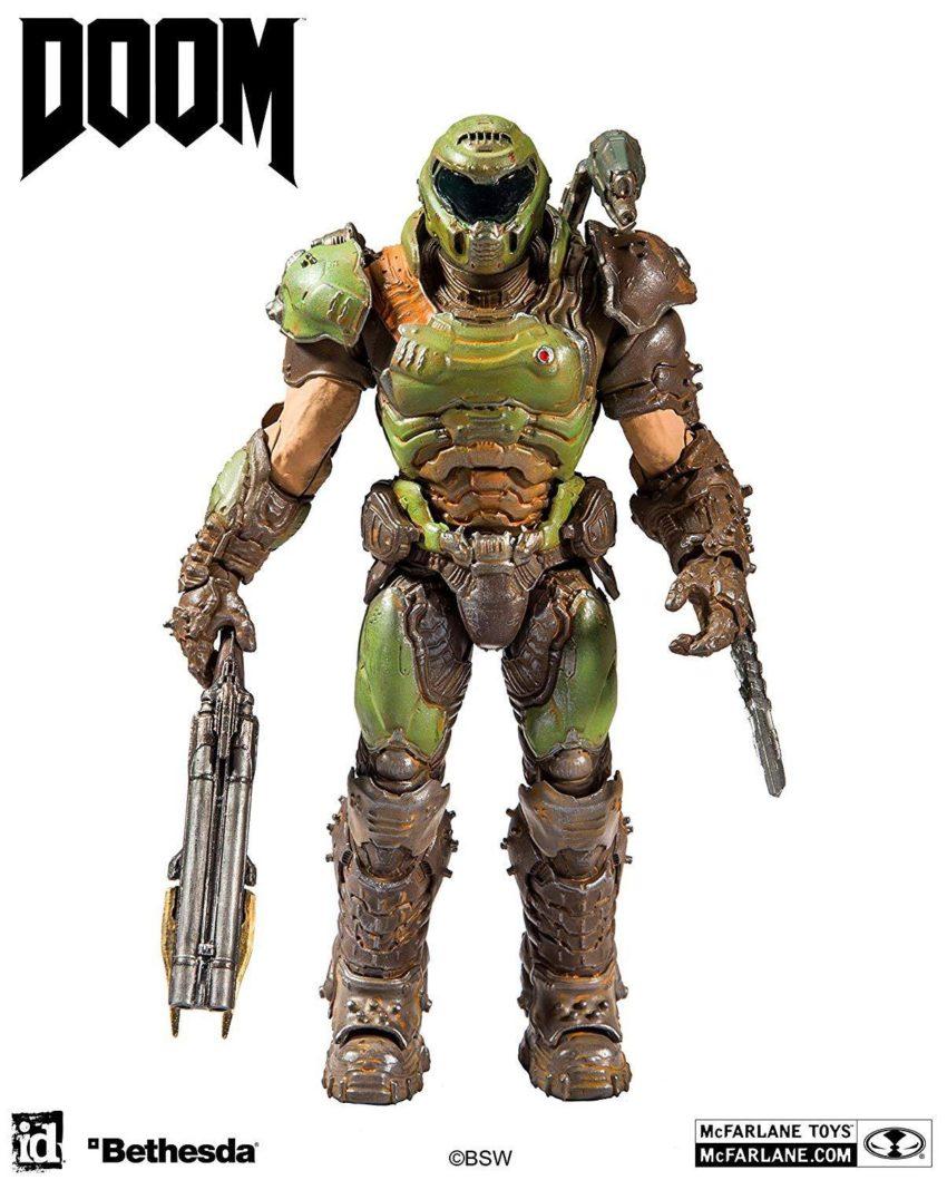 Doom Eternal Action Figure Doom Slayer-0