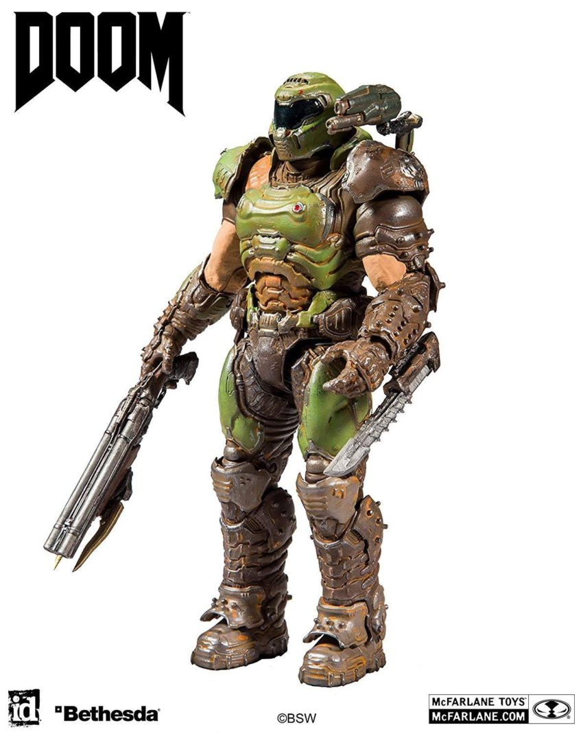 Doom Eternal Action Figure Doom Slayer-15178
