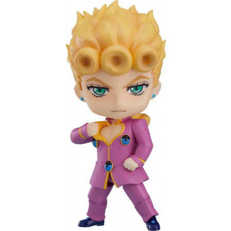 Jojo's Bizarre Adventure Golden Wind Nendoroid Action Figure Giorno Giovanna-0