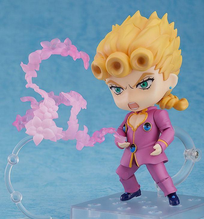 Jojo's Bizarre Adventure Golden Wind Nendoroid Action Figure Giorno Giovanna-15264