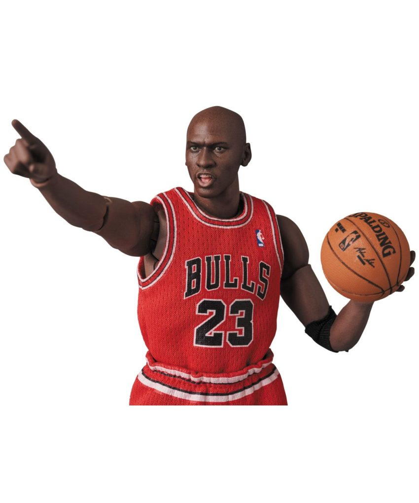 NBA MAFEX Action Figure Michael Jordan-15289