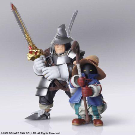 Final Fantasy IX Bring Arts Action Figures Vivi Ornitier & Adelbert Steiner-0