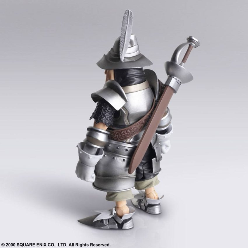 Final Fantasy IX Bring Arts Action Figures Vivi Ornitier & Adelbert Steiner-15638