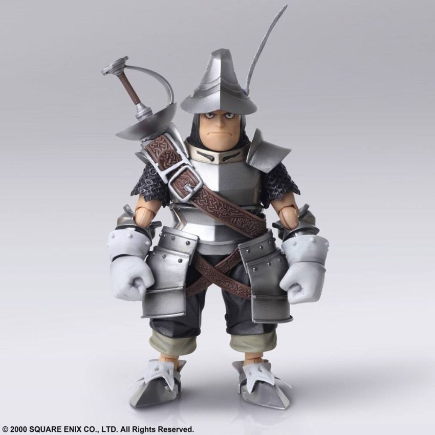 Final Fantasy IX Bring Arts Action Figures Vivi Ornitier & Adelbert Steiner-15640