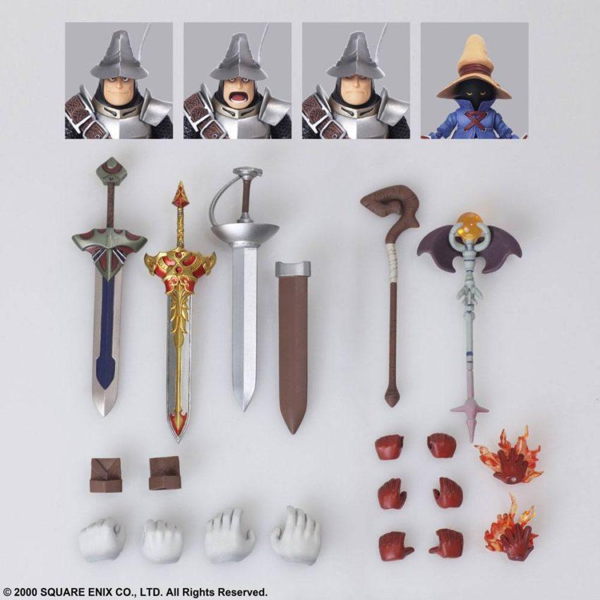 Final Fantasy IX Bring Arts Action Figures Vivi Ornitier & Adelbert Steiner-15641