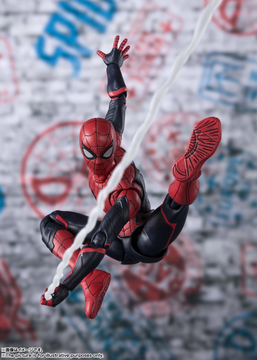 Spider-Man: Far From Home S.H.Figuarts Spider-Man Upgrade Suit Version