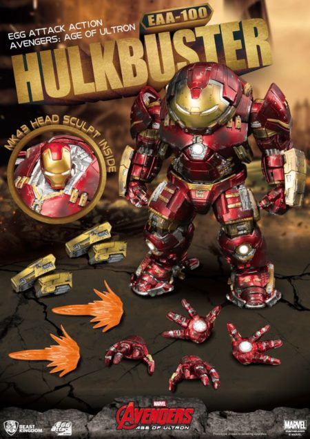 Avengers Age of Ultron Egg Attack Action Figure Hulkbuster