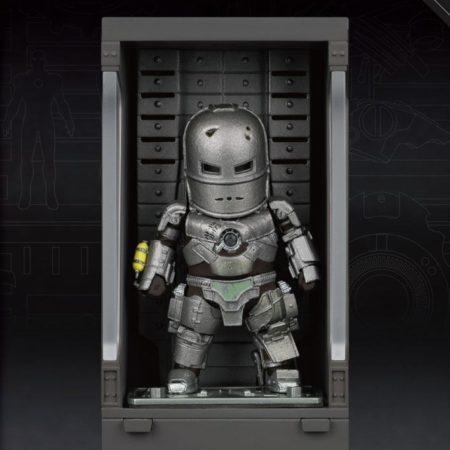 Iron Man 3 Mini Egg Attack Action Figure Hall of Armor Iron Man Mark I