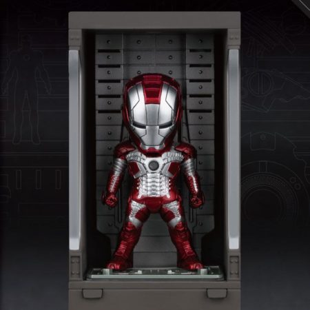 Iron Man 3 Mini Egg Attack Action Figure Hall of Armor Iron Man Mark V