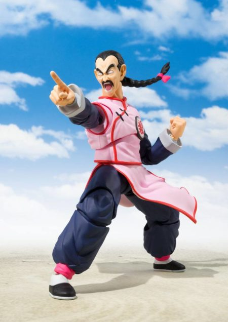 Dragon Ball S.H. Figuarts Action Figure Tao Pai Pai Tamashii Web Exclusive