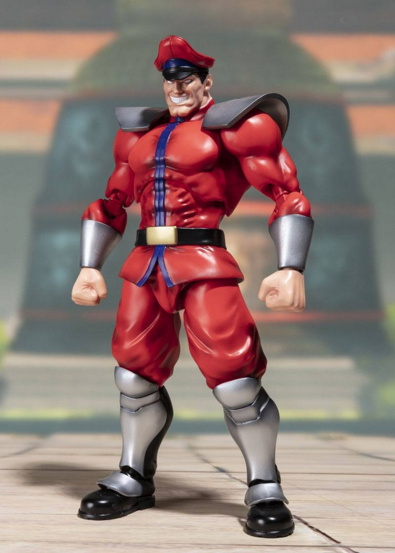 Street Fighter S.H. Figuarts Action Figure M. Bison Tamashii Web Exclusive-15866
