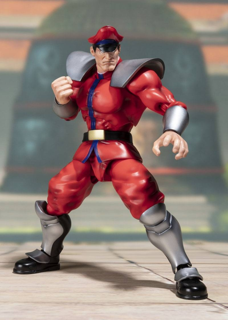 Street Fighter S.H. Figuarts Action Figure M. Bison Tamashii Web Exclusive-0