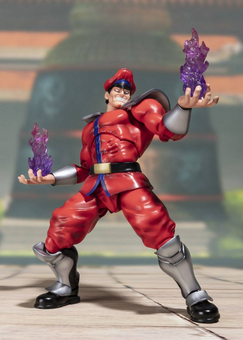 Street Fighter S.H. Figuarts Action Figure M. Bison Tamashii Web Exclusive-15867