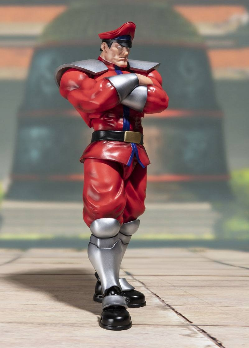 Street Fighter S.H. Figuarts Action Figure M. Bison Tamashii Web Exclusive-15868
