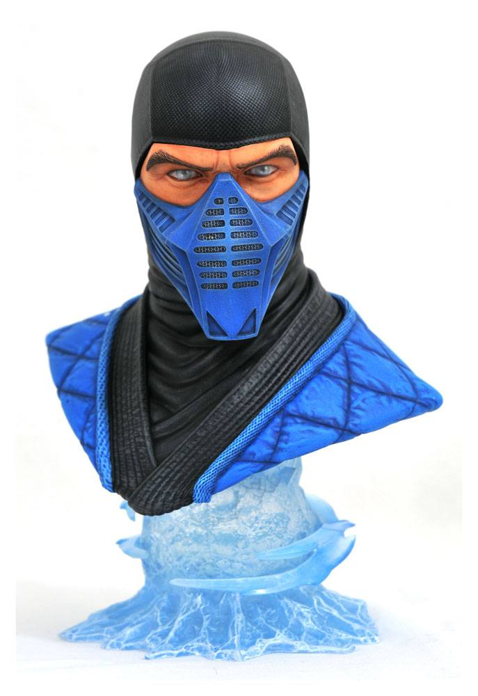 Mortal Kombat 11 Legends in 3D Bust 1/2 Sub-Zero