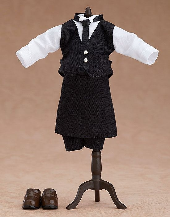 Original Character Parts for Nendoroid Doll Figures Outfit Set (Cafe - Boy)-15952