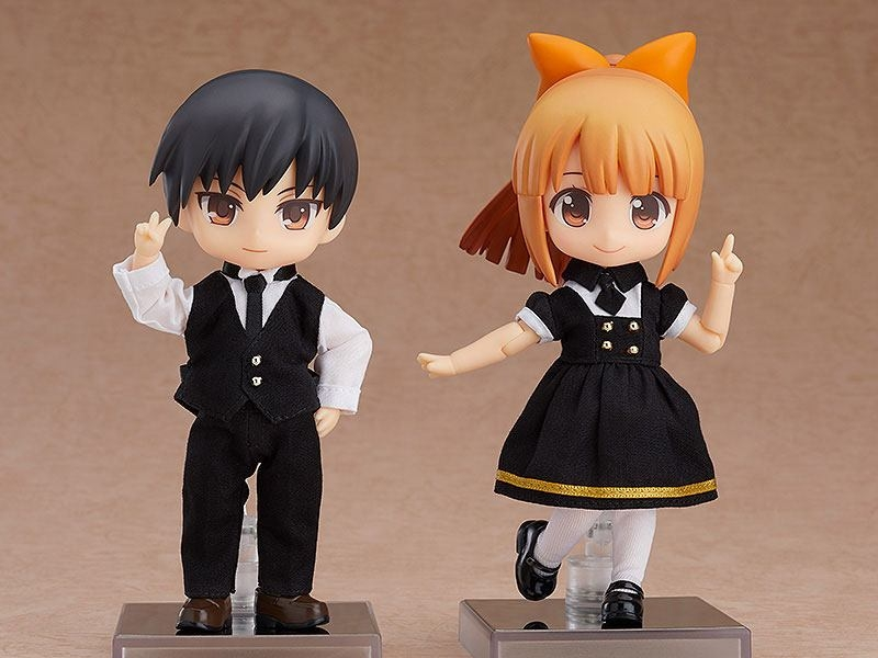 Original Character Parts for Nendoroid Doll Figures Outfit Set (Cafe - Boy)-15955