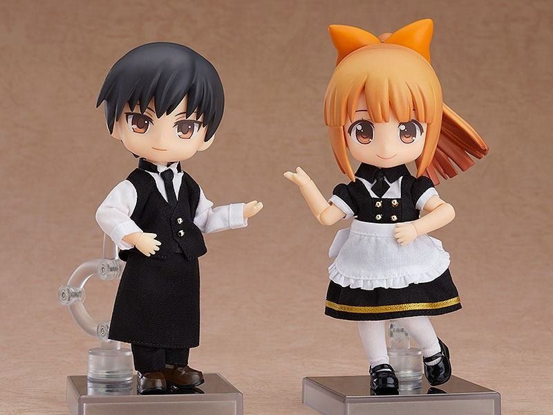 Original Character Parts for Nendoroid Doll Figures Outfit Set (Cafe - Girl)-15958