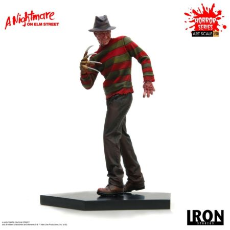 Nightmare on Elm Street Art Scale Statue 1/10 Freddy Krueger-0