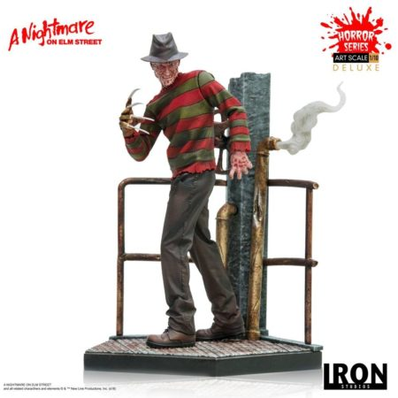 Nightmare on Elm Street Art Scale Statue 1/10 Freddy Krueger Deluxe-0