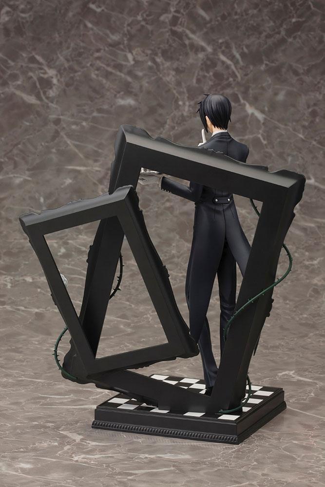 Black Butler Book of Circus ARTFXJ Statue 1/8 Sebastian Michaelis-15916