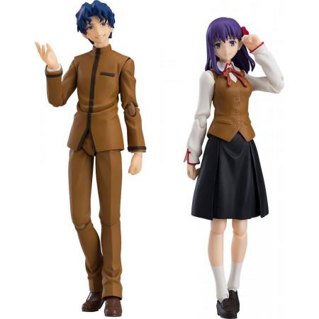 Fate/Stay Night Heaven's Feel Figma Action Figure 2-Pack Shinji Matou & Sakura Matou -0