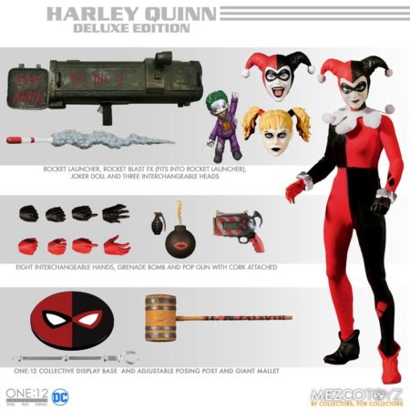 DC Comics Action Figure 1/12 Harley Quinn Deluxe Edition-0