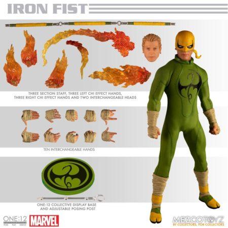 Marvel Action Figure 1/12 Iron Fist-0