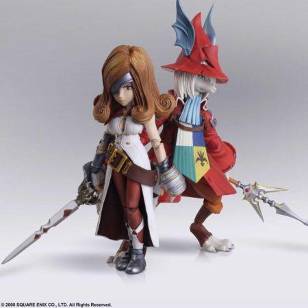 Final Fantasy IX Bring Arts Action Figures Freya Crescent & Beatrix