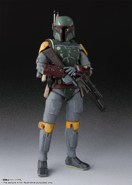 Star Wars Episode VI Return of the Jedi S.H.Figuarts Boba Fett