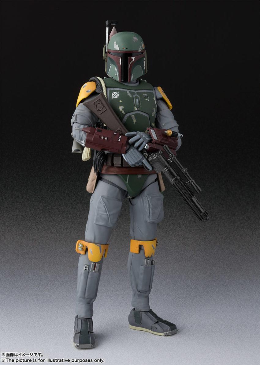 Star Wars Episode VI Return of the Jedi S.H.Figuarts Boba Fett
