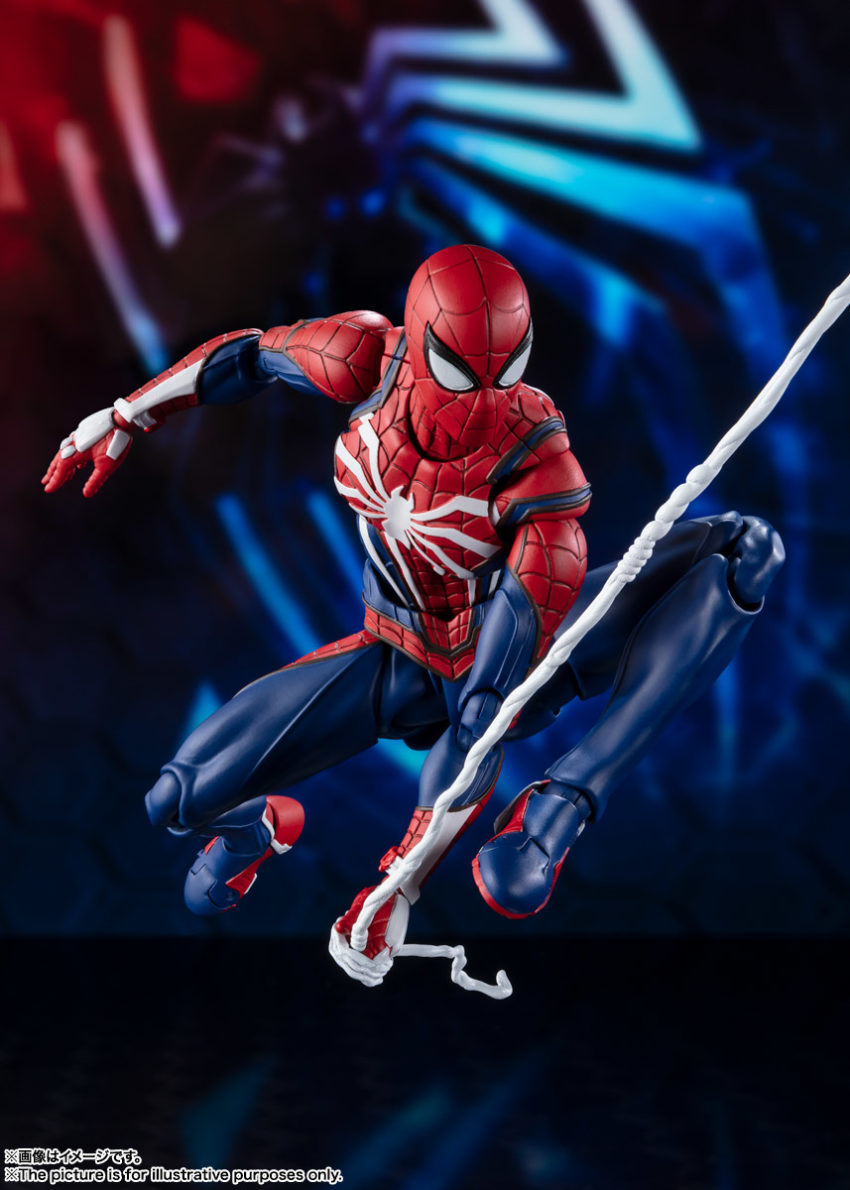 Marvel Spider-Man S.H.Figuarts Spider-Man Advanced Suit