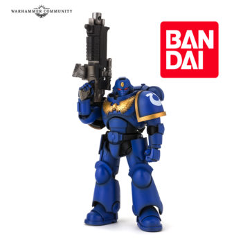 Bandai & Warhammer New Primaris Itercessor Action Figure