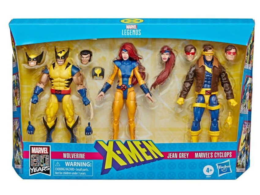 Marvel Legends X-Men Love Triangle Action Figure 3-Pack Exclusive