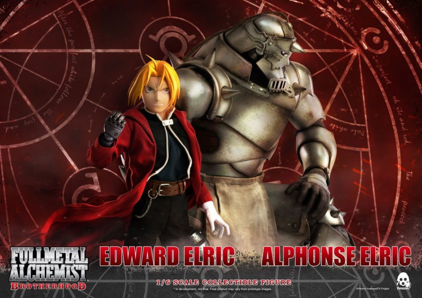 Fullmetal Alchemist: Brotherhood Action Figure 2-Pack 1/6 Edward & Alphonse Elric