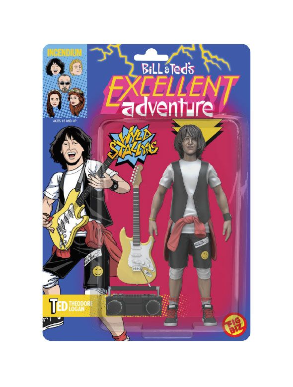 Bill & Ted's Excellent Adventure FigBiz Action Figure Ted 'Theodore' Logan, III