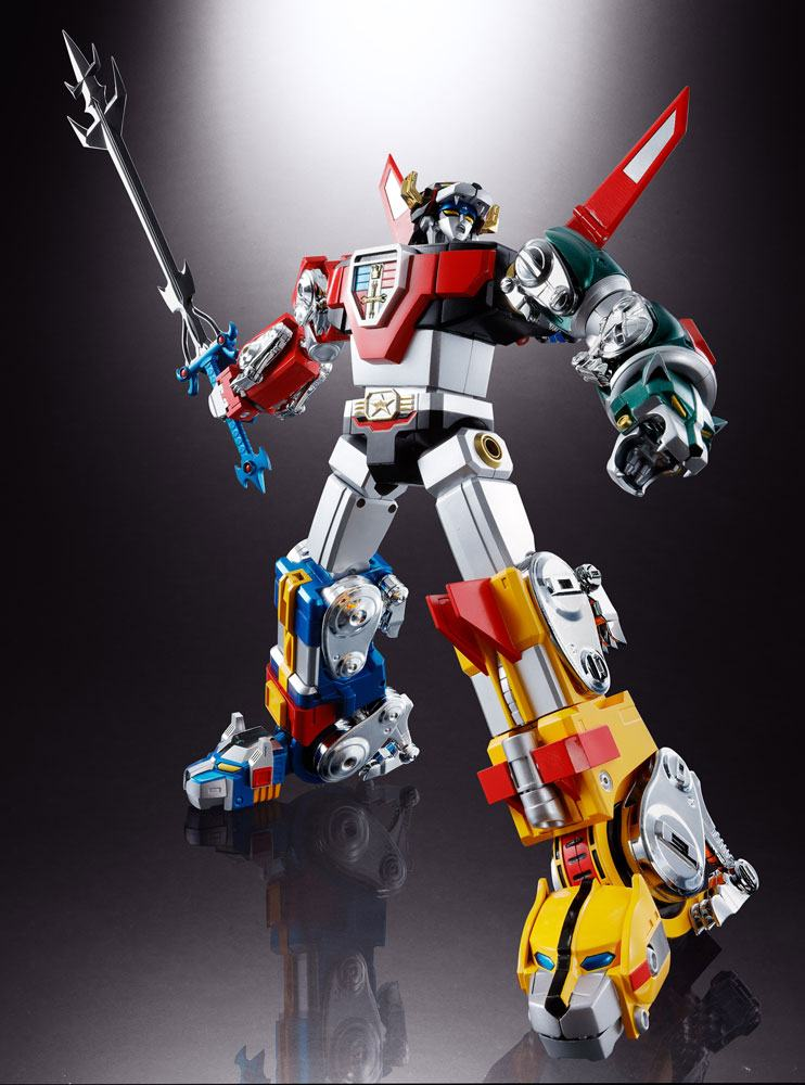 Voltron: Defender of the Universe Soul of Chogokin Diecast Action Figure GX-71 Voltron