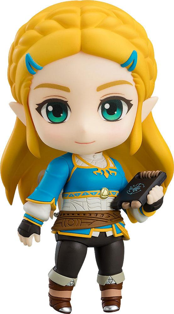 The Legend of Zelda Breath of the Wild Nendoroid Action Figure Zelda Breath of the Wild Ver.
