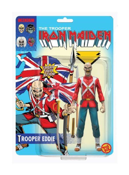 Iron Maiden FigBiz Action Figure Trooper Eddie