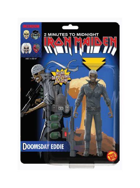 Iron Maiden FigBiz Action Figure Doomsday Eddie