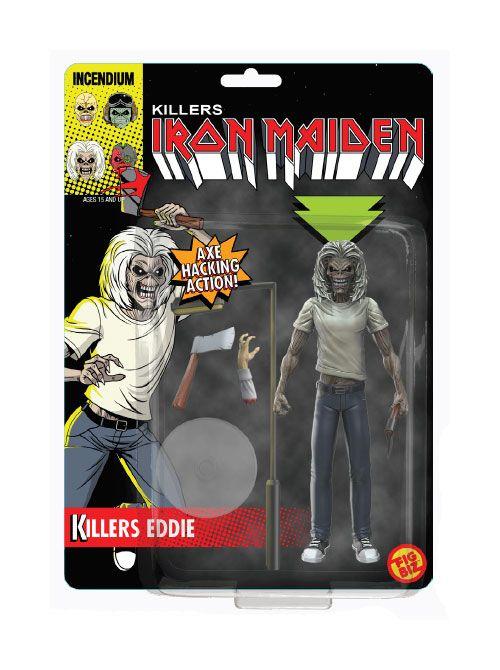 Iron Maiden FigBiz Action Figure Killers Eddie