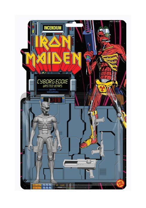 Iron Maiden FigBiz Action Figure Cyborg Eddie