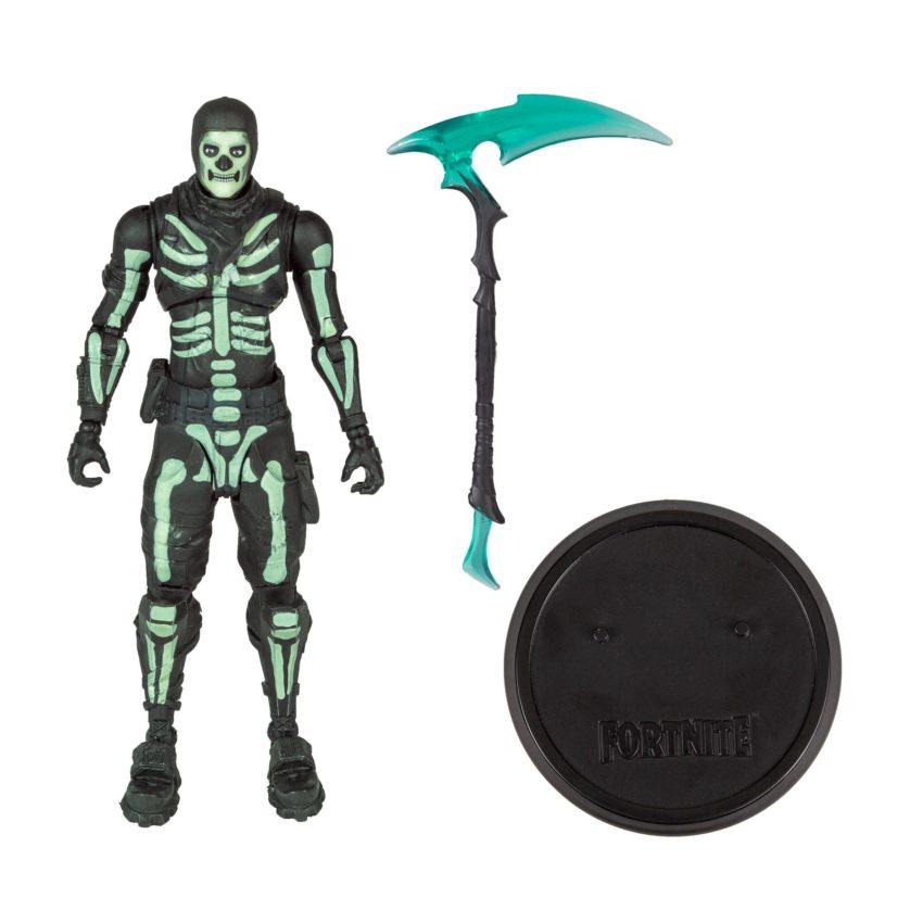 Fortnite Action Figure Green Glow Skull Trooper (Glow-in-the-Dark) Exclusive