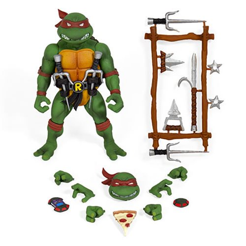 Teenage Mutant Ninja Turtles Ultimates Raphael 7-Inch Action Figure